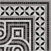 TES112 Cantonera Paxos 43,5x43,5 Negro g.76 43.5x43.5
