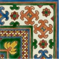 S0010NC11810  ZARBIA ROUILLE C. SOL (Iv) 20x20