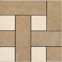 36404 MOSAICI CHESTERFIELD NOCE/BEIGE 30x30