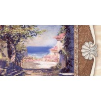 TES364 Charme Bellagio-4 Decor Honey 25x50