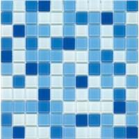 Мозаика  синяя MDF-25 Decor Mosaic