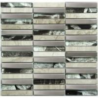MS-622  метал стекло камень (15x98x8) 28.5x30