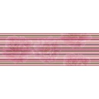 Aure Decor Lines Savage Flowers Berenjena 15x45