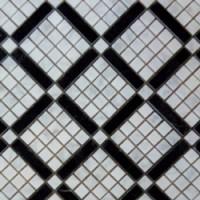 TES78174 Diagonal Carrara pol 37x37