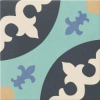 TES11240 Hanoi Blue (микс 32 рисунка) 33x33