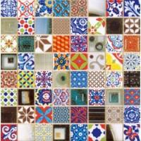 Мозаика  синяя 186927 Dune