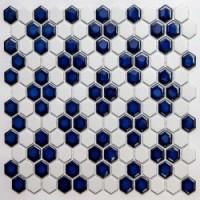 Мозаика для пола для ванной PS2326-44 NSmosaic