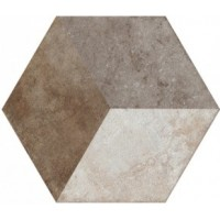 TES13753 Heritage Deco Exagona Texture 2 34.5x40