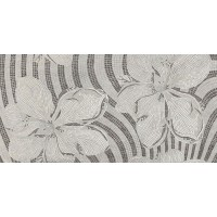TES13787 Decor Flower Silver 60x120