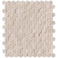 TES76549 Brooklyn Round Sand Mosaico 29.5x32.5