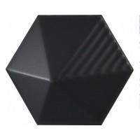 23029 Керамическая плитка для стен EQUIPE MAGICAL 3 Black Matt Umbrella 10.7x12.4