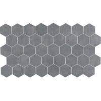 Мозаика матовая серая TES77600 LEONARDO 1502