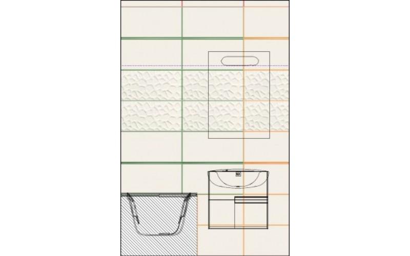 Керамическая плитка Коллекция All in White