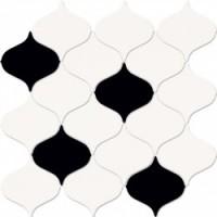 Мозаика  черно-белая O-MAG-WIN451 Mei