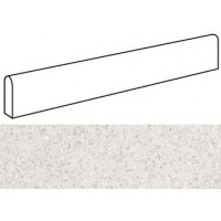 AS8C  Marvel Terrazzo White Battiscopa Lappato 7.2x60