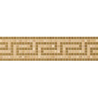 37261 Vanitas FASCIA GRECA ORO/NOCE/GOLD 9,8x39,4