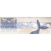 Керамическая плитка  с рыбками 1664-0176