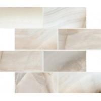 747786 ALABASTRI Bamboo Glossy 7.5x15 Muretto 6mm 30x30