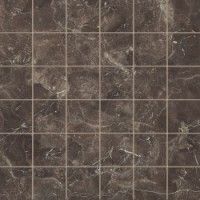 BE043ML Dark Emperador Living Mosaico Lap 30x30