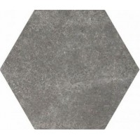 922175 Керамогранит HEXATILE CEMENT BLACK Equipe Ceramicas 17.5x20