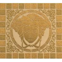 37501 3x7501 Vanitas Firma Medusa Gold/Oro/Noce 9,8x10,9 9.8x10.9