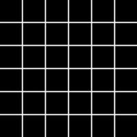 Albir Nero Mozaika (4.8x4.8) 29.8*29.8