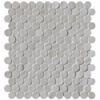 Brooklyn Round Fog Mosaico 29.5x32.5