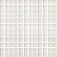 Мозаика для фартука белая TES78064 Paradyz