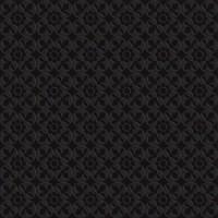 7VF14FL  Deco Dantan Fleur Noir 60x60