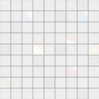 Mosaico Cubic White 31.6x31.6