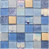 TES77045 MARINE BLUE(5x5) 0.08 30x30