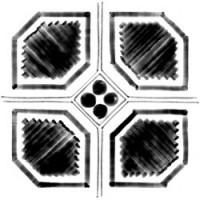 TES4642 Octogono Variette Sombra Mix g.156 20x20