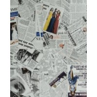 TES4507 Newsprint Color 118х119 119x118