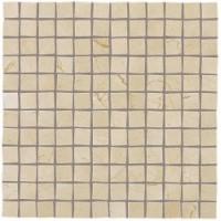600110000835  Supernova Stone Cream Mosaic 30,5x30,5 30.5x30.5