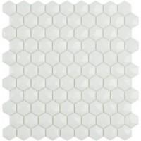 TES77345 Hex Nordic № 910 Белый (на сетке) 30.7x31.7