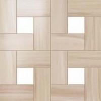 610110000068 Aston Wood Bamboo Mosaic Lap 45x45