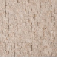 CV20145  Mos.Turkish Travertine Split 1.5x1.5 30.5x30.5