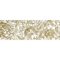 TES75876 GOLDFLOWERS W2 25x75