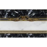 Керамическая плитка  черная под мрамор El Molino TES96600