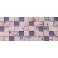 Aquarelle lilac wall 03 25х60