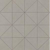AUIG Arkshade Grey Mosaico Prisma 36x36