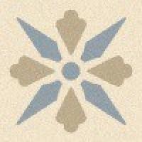 TES1693 Fleur 07 (White, Pale Grey, Blue)5x5 5x5