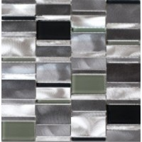 ALU3030C16 Alu Cube Barettes Noir 30x30
