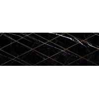 Керамическая плитка глянцевая для ванной черная 1664-0149 Lasselsberger