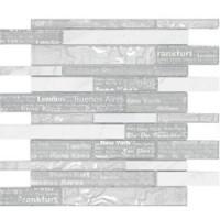 16096 Shapes D.HORIZON White 30x30