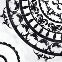 Oriental черно-белая (OE6R442DT) 42x42