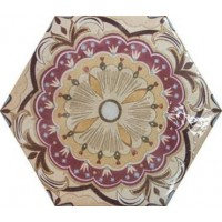 921045 Декор HEXATILE GAUDI Equipe Ceramicas 17.5x20