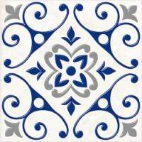 Керамическая плитка  для ванной синяя 04-01-1-14-03-65-1000-2