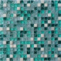 Мозаика для фартука белая GS095B Keramograd