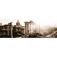 Metro Italia Standart Арка и собор сепия decor 10*30